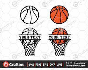 061 Basketball SVG Basketball Net SVG