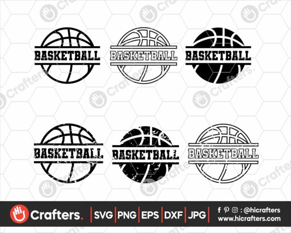 063 Basketball SVG distressed basketball svg