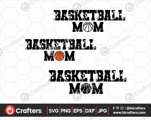070 basketball mom svg