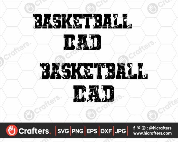 072 basketball dad svg