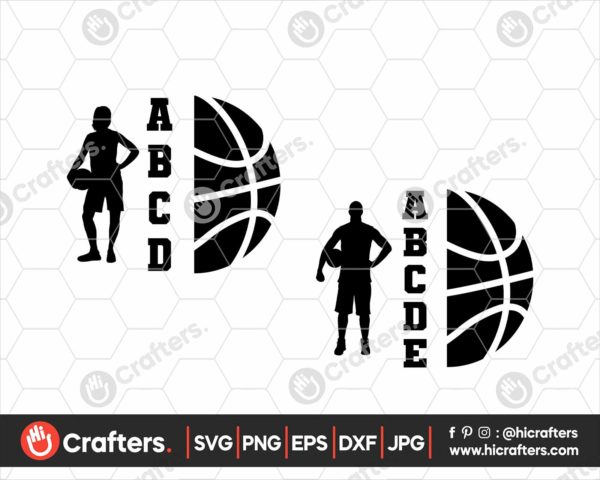 073 Basketball Player SVG Girl Basketball SVG