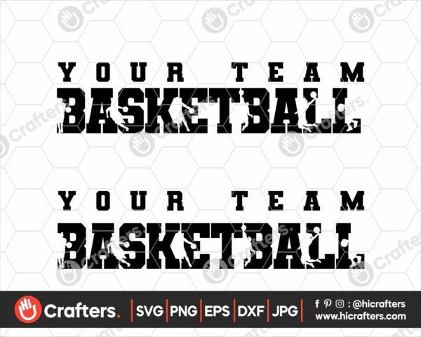 080 Basketball SVG Basketball Team SVG