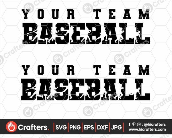 085 Baseball SVG Baseball Team SVG