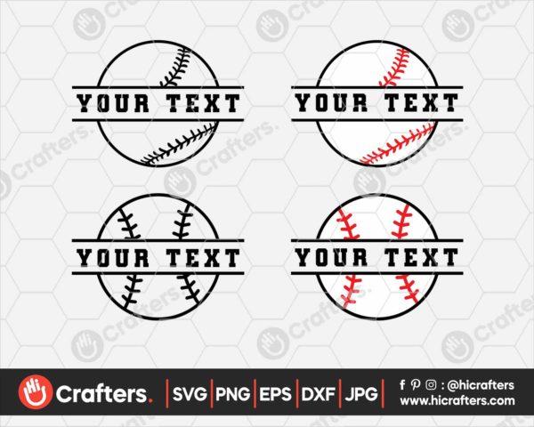 090 Split baseball svg Split softball svg