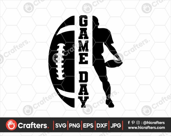 109 football silhouette svg