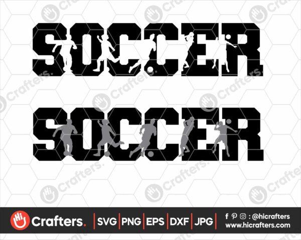 115 Soccer svg Soccer girl svg
