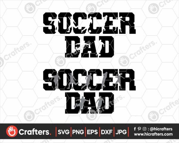 116 Soccer Dad SVG Soccer SVG