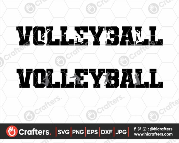 121 Volleyball svg