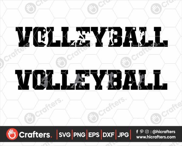 122 Volleyball mom svg