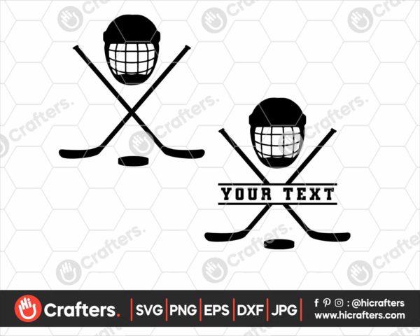 134 hockey svg
