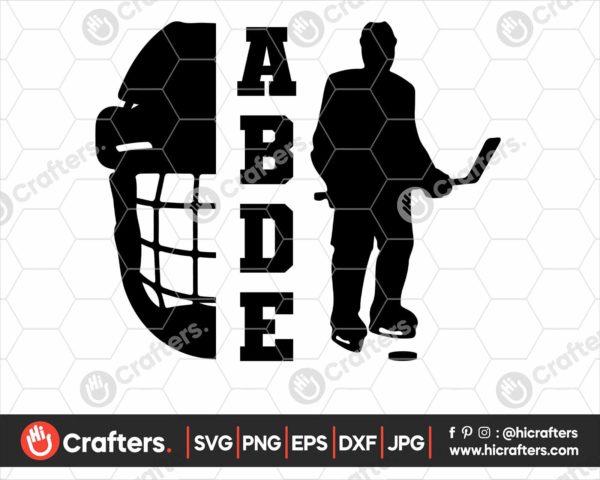 137 hockey mask svg