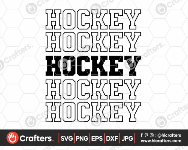 139 Hockey Jersey SVG