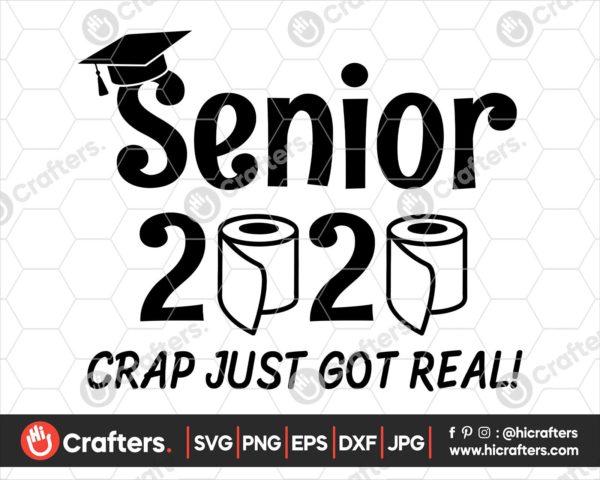 145 seniors 2020 quarantined svg