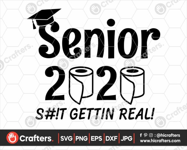 146 seniors 2020 quarantined svg