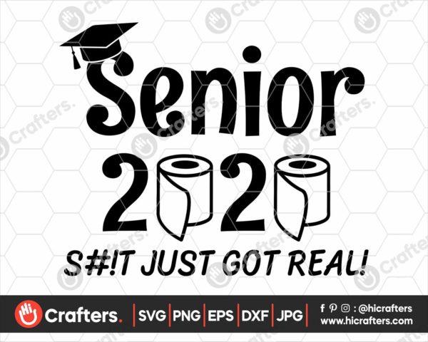 147 senior 2020 quarantine svg