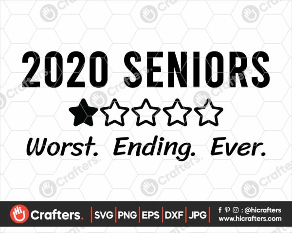 153 2020 Senior Quarantine SVG