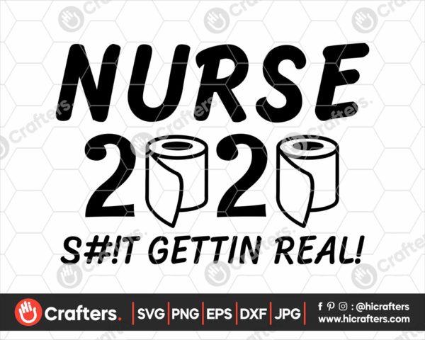 157 Nurse quarantine svg