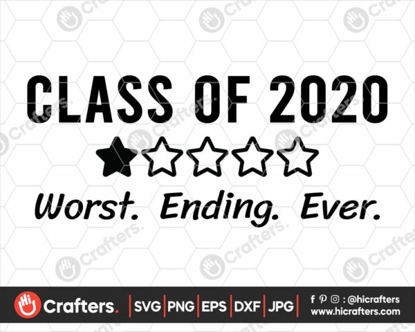 181 Class Of 2020 SVG