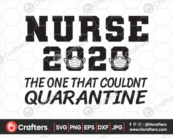 193 Nurse The One Where They Were Quarantined SVG
