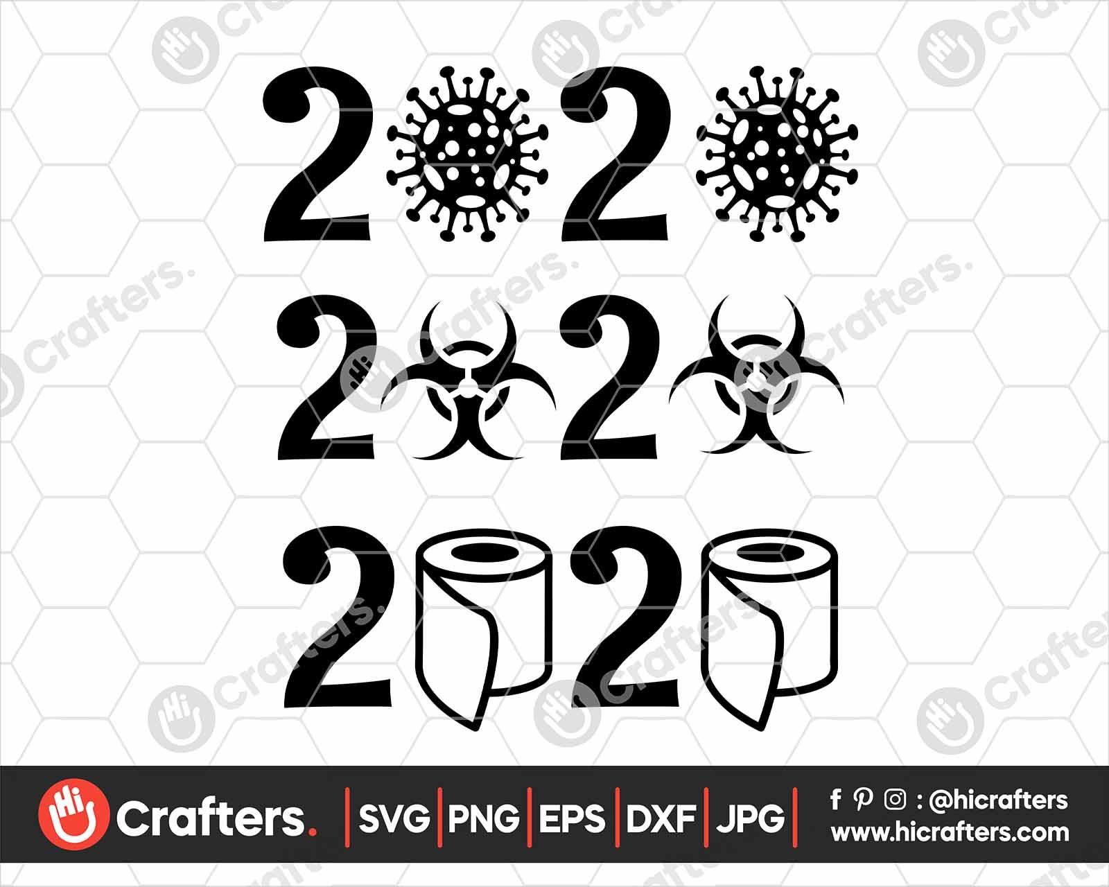 2020 Toilet Paper Svg Corona Svg Png Hi Crafters
