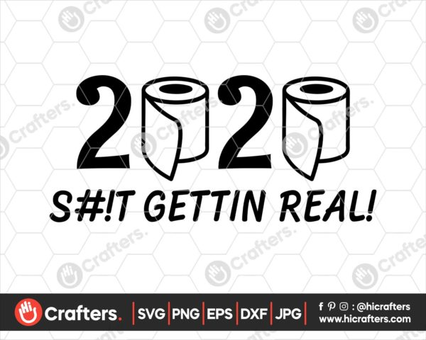 187 2020 Toilet Paper Svg