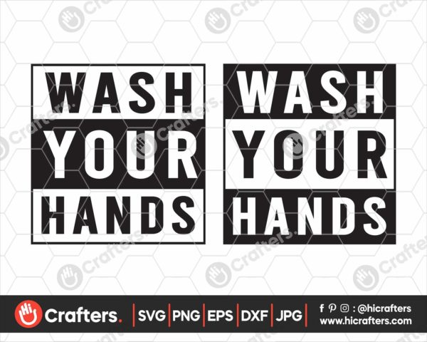 188 wash your hands svg