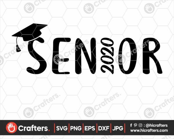 223 Senior 2020 SVG Class of 2020 SVG