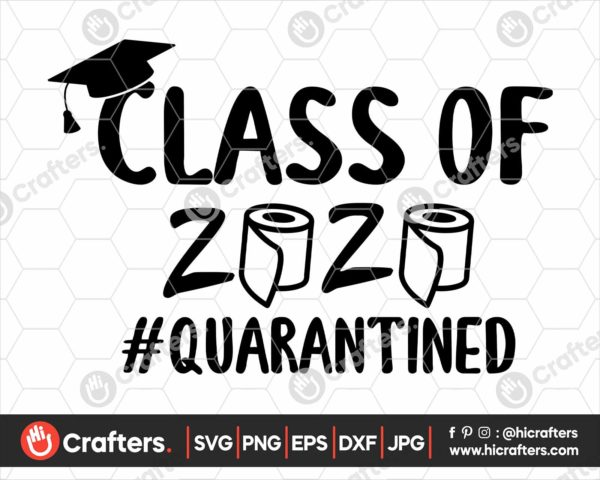 227 Class Of 2020 Toilet Paper Svg