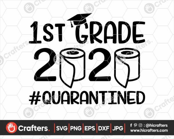 263 1st grade quarantine svg png