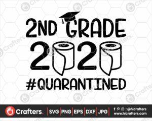 264 2nd grade quarantine svg png