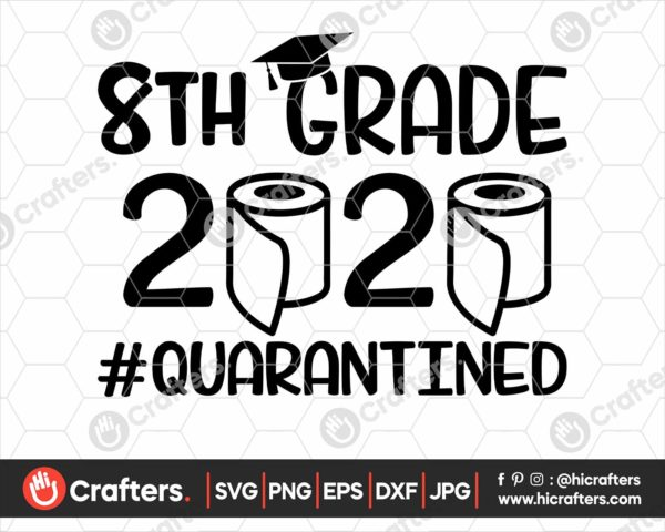 270 8th grade graduation svg png