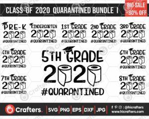 292 class of 2020 quarantine svg bundle