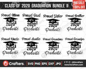 295 Class of 2020 Graduation SVG Bundle