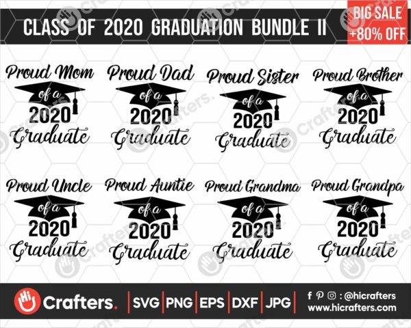 295 Class of 2020 Graduation SVG Bundle