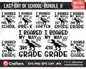 299 Last Day of School SVG Bundle