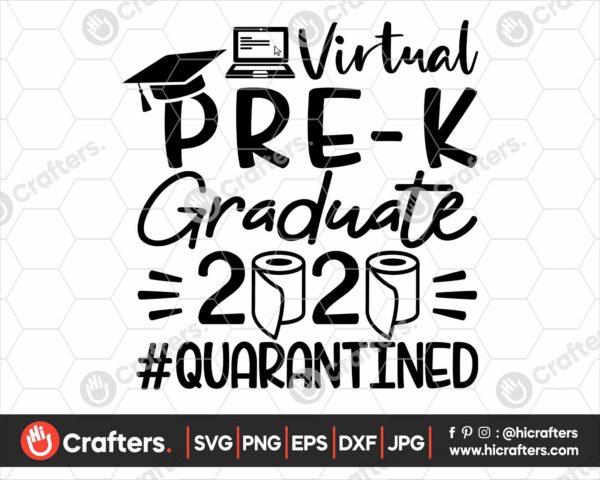 311 virtual Pre k graduation svg Pre k Quarantine svg png