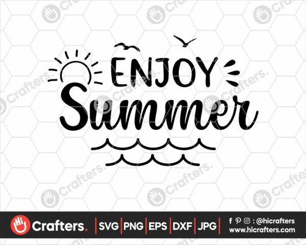 369 enjoy the summer svg summer shirt svg png