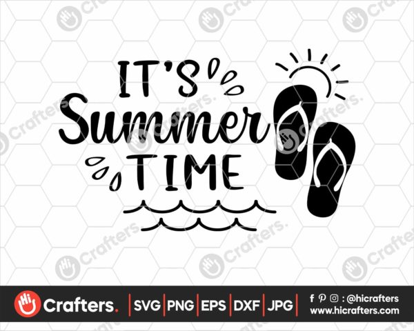 371 Its summer time svg Hello Summer svg png