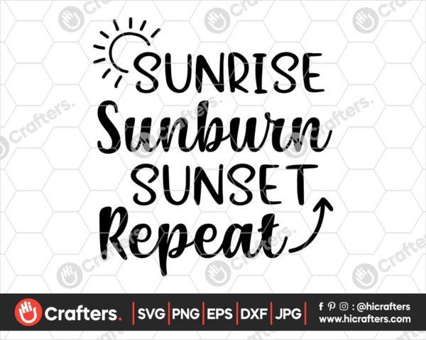405 Sunrise Sunburn Repeat Svg png