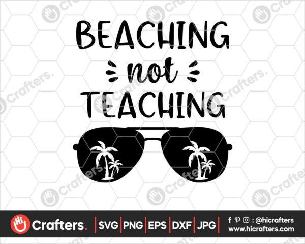 421 beaching not teaching svg png
