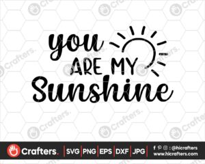 428 you are my sunshine svg