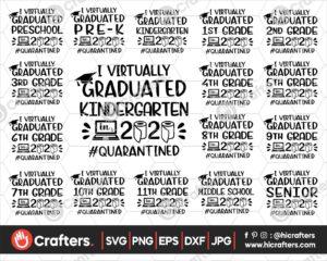 431 I virtually graduate svg bundle