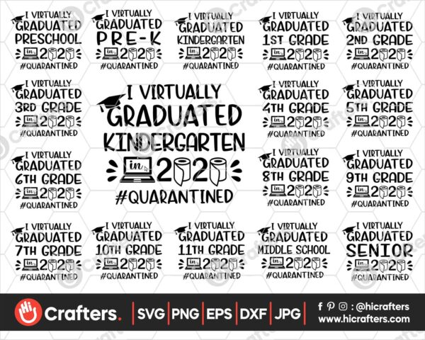 431 I virtually graduate svg bundle