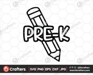 432 Prek SVG Back to school svg for cricut