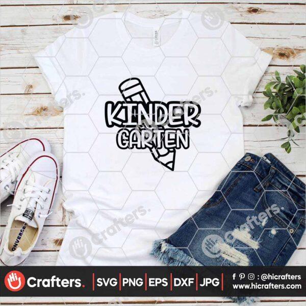 433 1st day of school svg kindergarten svg for cricut