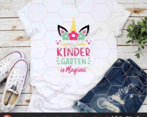 453 kindergarten is Magical SVG kindergarten Unicorn SVG For Cricut