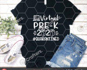 497 Virtual Pre k SVG Virtual Learning SVG For Cricut