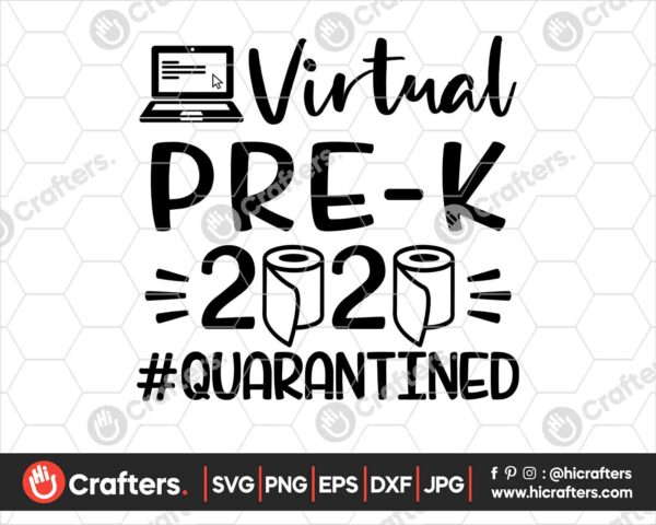 497 Virtual Pre k SVG Virtual Learning SVG PNG