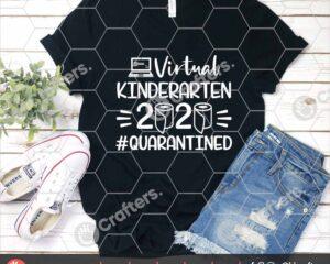 498 Virtual Kindergarten SVG Virtual Learning SVG For Cricut