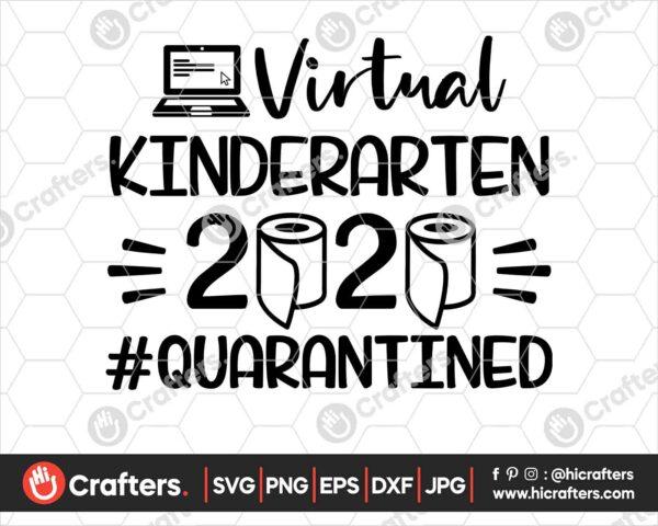 498 Virtual Kindergarten SVG Virtual Learning SVG PNG